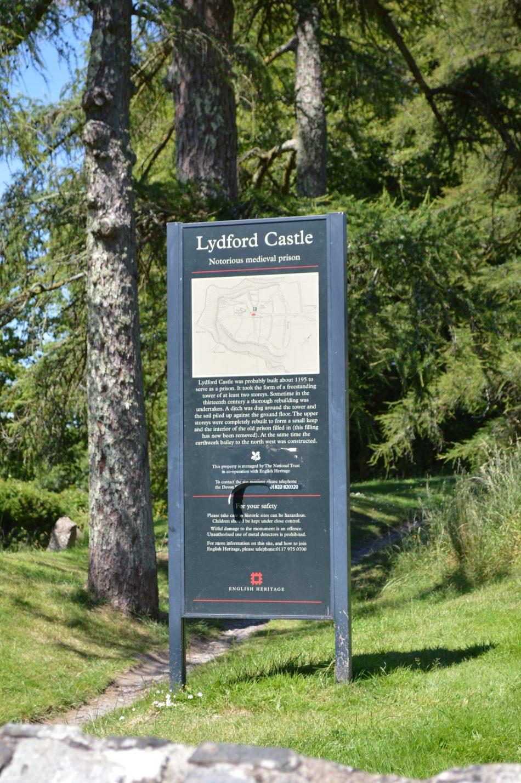 Lydford Castle Entrance