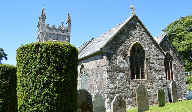 Lydford Castle Graveyard