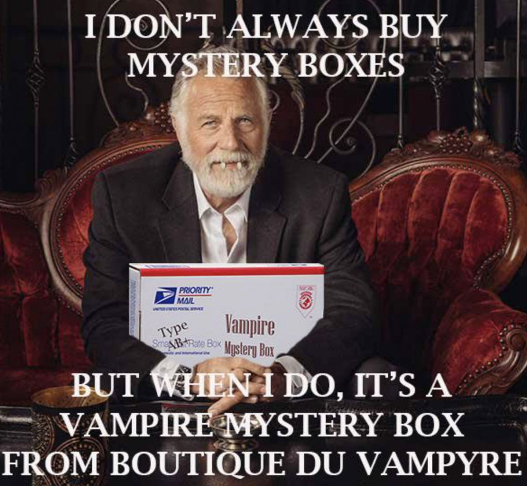 Morbid Planet Vampire Mystery Box