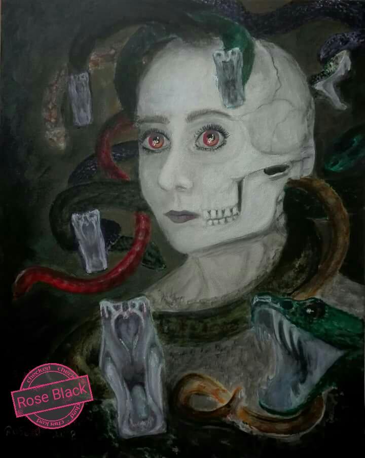 Morbid Planet Rose Black